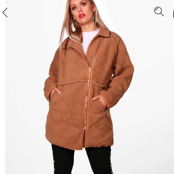96e3ffe7c3f NWT Plus size teddy bear coat